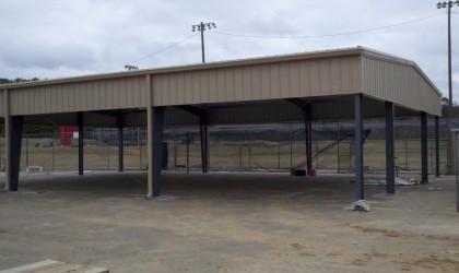 Many High School Batting Cage, Many, LA
