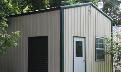 Residential – Custom Workshop & Carport off Existing Garage